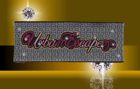 Photo Damask Woven Labels